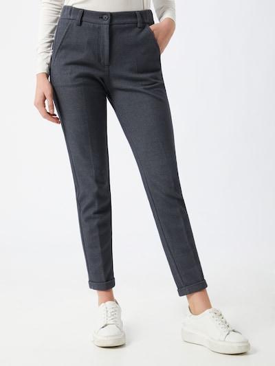 OPUS Pantalon 'Melina' in de kleur Blauw / Zwart, Modelweergave