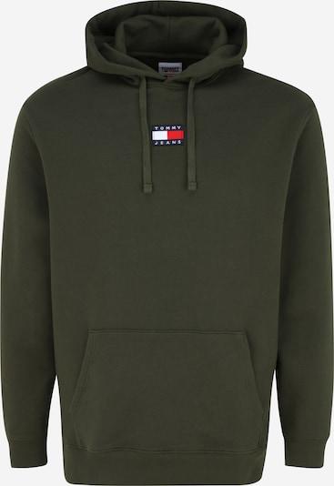 Tommy Jeans Plus Sweater majica u maslinasta, Pregled proizvoda