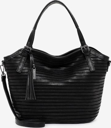 TAMARIS Μεγάλη τσάντα 'Dalia' σε μαύρο
