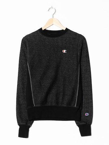 Champion Authentic Athletic Apparel Sweatshirt in XS/S in Schwarz