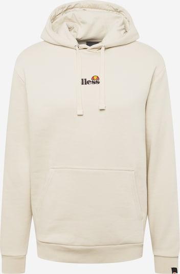 ELLESSE Sweatshirt in de kleur Lichtgrijs / Lichtoranje / Grenadine / Zwart, Productweergave