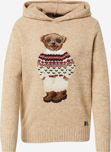 POLO RALPH LAUREN Sweater in Camel / Mixed colours, Item view