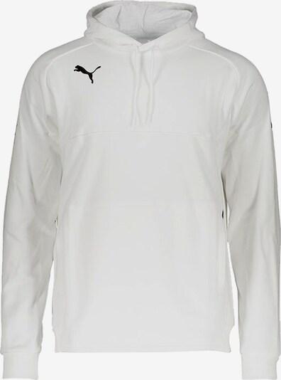 PUMA Sweatshirt in schwarz / weiß: Frontalansicht