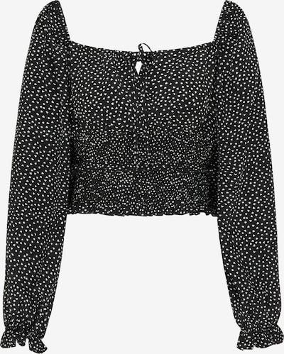 MYMO Blouse in de kleur Zwart / Wit, Productweergave