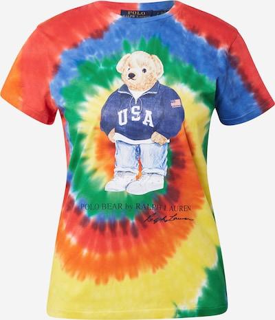 Polo Ralph Lauren T-shirt en bleu / jaune / vert / orange / rouge, Vue avec produit