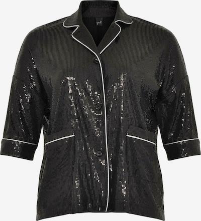Yoek Blazer en noir / blanc, Vue avec produit