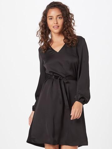 Rochie tip bluză de la VILA pe negru