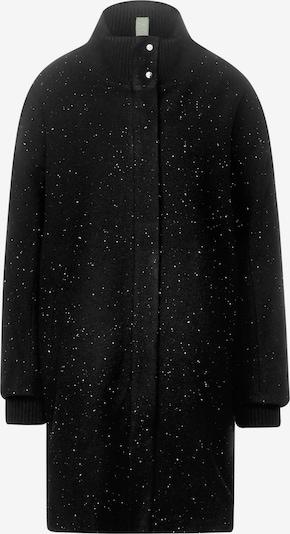 STREET ONE Mantel in schwarz / weiß, Produktansicht