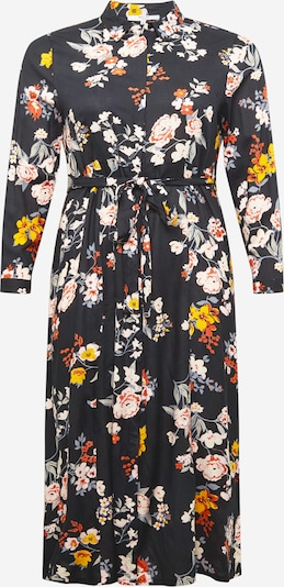 ABOUT YOU Curvy Kleid 'Aurelia' in mischfarben / schwarz, Produktansicht