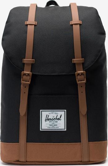 Herschel Rucksack 'Retreat' in braun / schwarz, Produktansicht