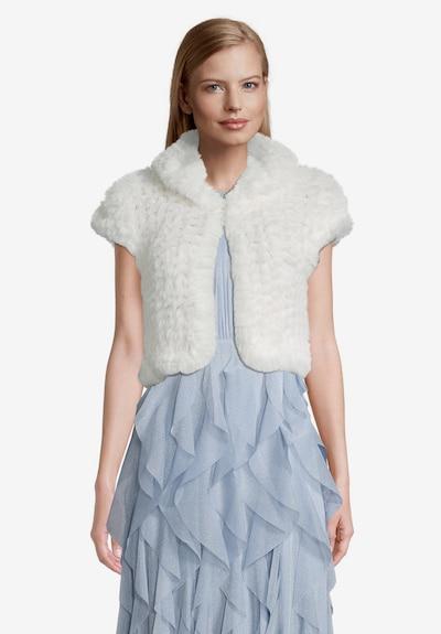 Vera Mont Bolero in de kleur Wit, Modelweergave