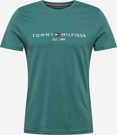 TOMMY HILFIGER Tričko - pastelovo modrá / červená / biela, Produkt