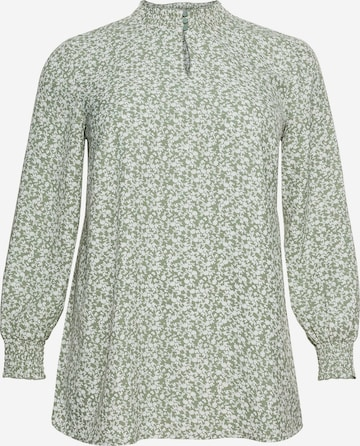 SHEEGO - Blusa en verde
