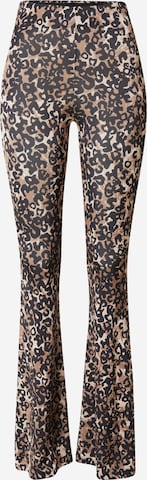 Hoermanseder x About You Leggings 'Fame' in Brown