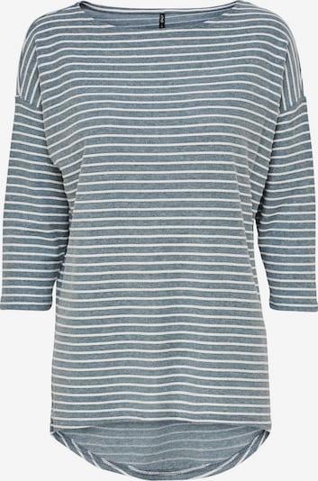 ONLY Shirt 'Elly' in rauchblau / weiß, Produktansicht