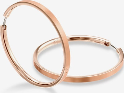 Boccia Titanium Ohrringe in rosegold, Produktansicht
