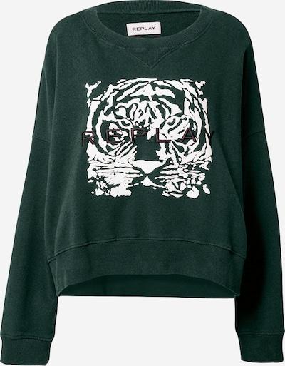 REPLAY Majica   temno zelena barva, Prikaz izdelka