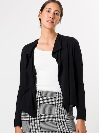 zero Sweatjacke in schwarz, Modelansicht