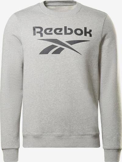 REEBOK Sweatshirt 'Identity Fleece Crew ' in hellgrau, Produktansicht