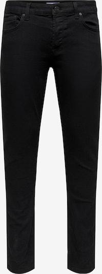 Only & Sons Jeans 'Loom' in de kleur Black denim, Productweergave