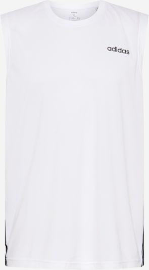 ADIDAS PERFORMANCE Shirt 'D2M SL 3S' in weiß, Produktansicht