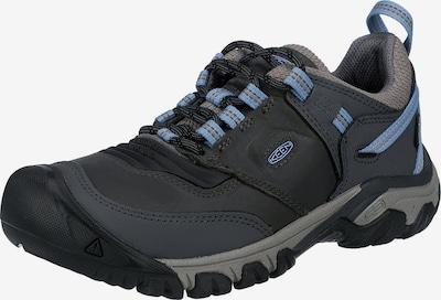 KEEN Trekkingschuh 'Ridge Flex Wp' in hellblau / grau / dunkelgrau, Produktansicht