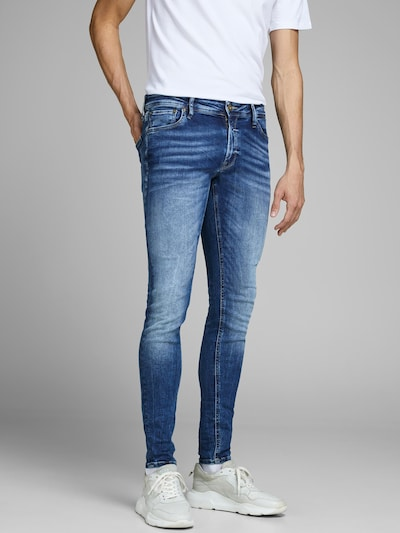 JACK & JONES Vaquero 'TOM ORIGINAL JOS 510 50SPS NOOS' en azul denim, Vista del modelo