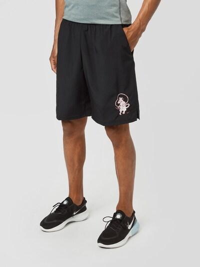 világospiros / fekete / fehér NIKE Sportnadrágok, Modell nézet