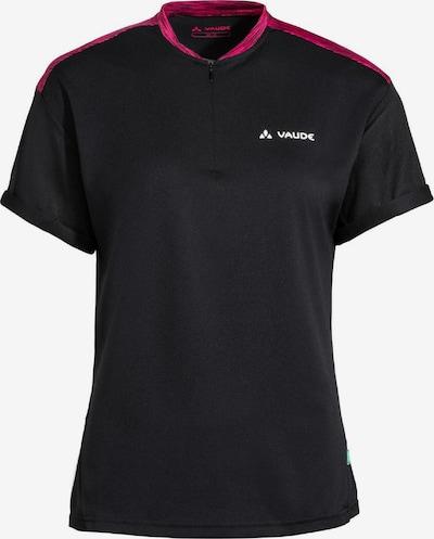 VAUDE Functioneel shirt 'Qimsa' in de kleur Roze gemêleerd / Zwart, Productweergave