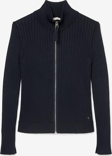 Marc O'Polo Gebreid vest ' aus Organic Cotton ' in de kleur Navy: Vooraanzicht