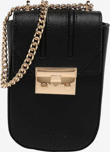 Seidenfelt Manufaktur Tasche 'Roros' in schwarz, Produktansicht