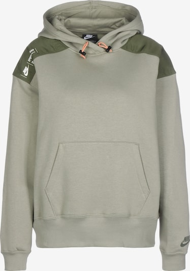 Nike Sportswear Sweatshirt  'W  Flee' in oliv / hellgrün, Produktansicht