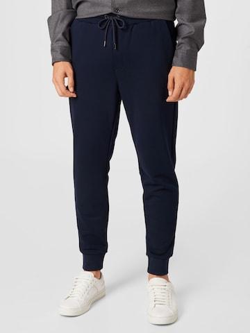 BOSS Trousers 'Lamont' in Blue