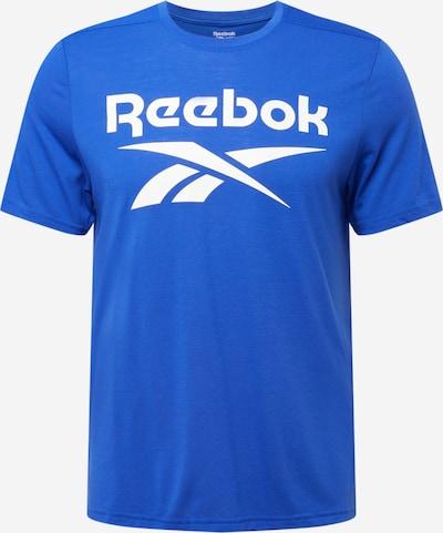 Reebok Sport T-Shirt fonctionnel en bleu roi / blanc, Vue avec produit