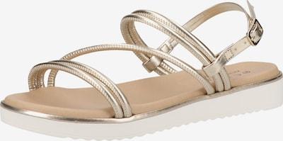 SCAPA Sandale in gold, Produktansicht