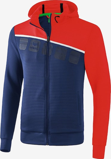 ERIMA Jacke in dunkelblau / hellrot / weiß, Produktansicht