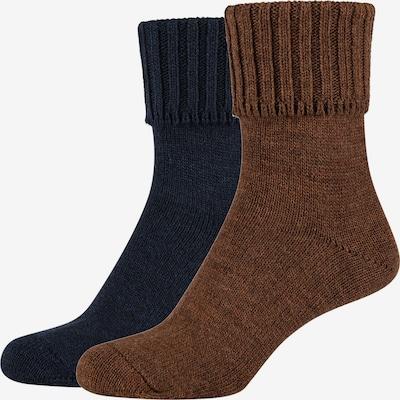 camano Socks in Dark blue / Brown, Item view