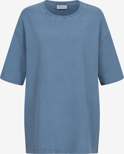 Cotton Candy Rundhals-Shirt 'UMUT' in blau, Produktansicht