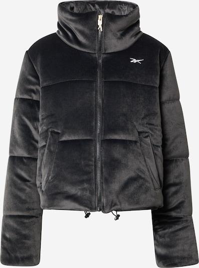 Reebok Sport Sportska jakna u crna / bijela, Pregled proizvoda