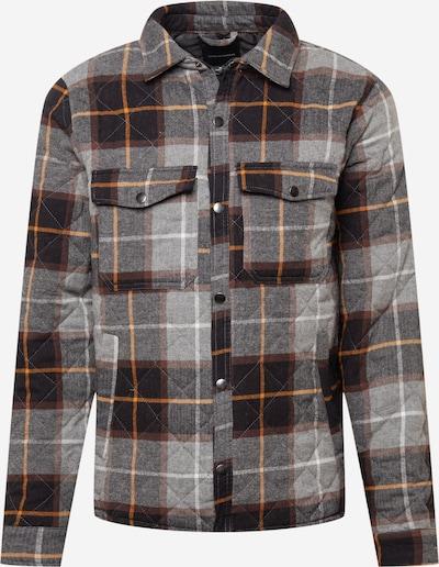 Cotton On Jacke in hellgrau / graumeliert / hellorange / schwarz, Produktansicht