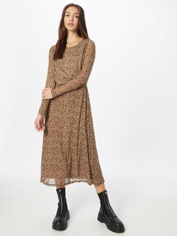 VILA Kleit 'Gorgeous', värv pruun