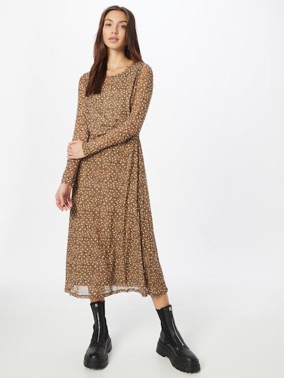 VILA Dress 'Gorgeous' in Brown / Black / White, View model