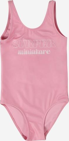 Gina Tricot Mini Badeanzug in Pink