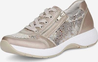 REMONTE Sneaker in beige / gold / silber, Produktansicht