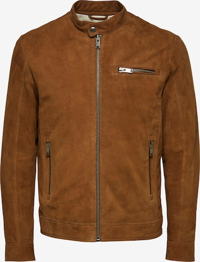 SELECTED HOMME Tussenjas in de kleur Bruin, Productweergave