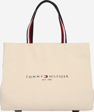 TOMMY HILFIGER Torba shopper w kolorze kremowy / ciemny niebieski / czerwony / białym, Podgląd produktu