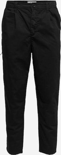 Only & Sons Pantalon chino en noir, Vue avec produit