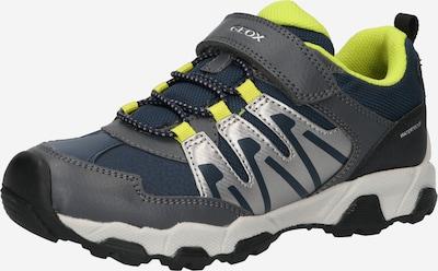 GEOX Sneaker 'MAGNETAR in navy / dunkelgrau / limette / silber, Produktansicht