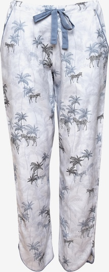 Cyberjammies Pantalon de pyjama ' Molly' en bleu foncé / noir / blanc, Vue avec produit