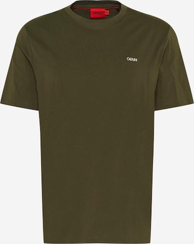 HUGO Shirt 'Dero' in de kleur Donkergroen, Productweergave